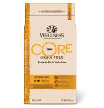 Wellness Core Cat Sterilised Grain free Chicken Turkey / Сухой Беззерновой корм Велнес Кор для Стерилизованных кошек и котов Курица с Индейкой