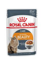 Заказать Royal Canin Intense Beauty / Влажный корм (Консервы-Паучи) Роял Канин Интенс Бьюти для кошек Красота шерсти в Соусе (цена за упаковку) по цене 1280 руб