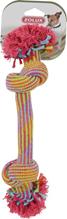 Заказать Zolux / Игрушка для собак Веревка с двумя узлами Цветная по цене 150 руб