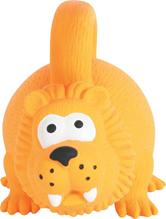 Zolux / Игрушка для собак Лев с ручкой Оранжевый Латекс