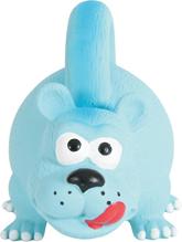 Zolux / Игрушка для собак Львица с ручкой Голубая Латекс