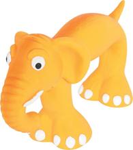 Zolux / Игрушка Золюкс для собак Слоник Оранжевый Латекс