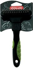 Zolux / Скребница Золюкс Двухрядная Комбинированная 13 длинных/12 коротких зубцов