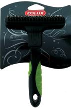 Zolux / Скребница Золюкс Комбинированная 20 зубцов