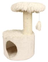 Заказать Zolux Yeti One / Домик с когтеточкой для кошек 35х35х52,5 см по цене 3440 руб