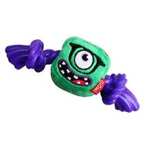 GiGwi Dog Monster Rope / Игрушка Гигви для собак Монстр с резиновой веревкой и пищалкой Большой