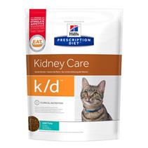 Заказать Hills Prescription Diet Feline k / d Лечебный корм для кошек Заболевание почек (почечная недостаточность) Тунец по цене 470 руб