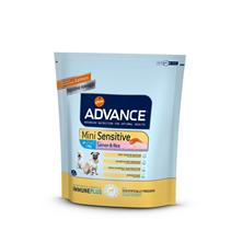 Advance Mini Sensitive / Сухой корм Адванс для собак Мелких пород с Чувствительным пищеварением Лосось рис