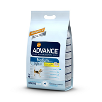 Advance Medium Light / Сухой корм Адванс для собак Средних пород Контроль веса Курица рис