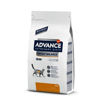 Заказать Advance Veterinary Diets Weight Balance Obesity Management / Ветеринарный сухой корм для кошек при Ожирении по цене 1297 руб