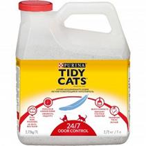 Tidy Cats 24 / 7 / Наполнитель Тайди Кэтс для кошачьего туалета Комкующийся