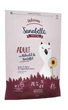 Заказать Sanabelle Delicious Adult Rehwild / Сухой корм для кошек Косуля картофель по цене 2380 руб