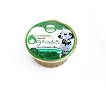 Organix / Консервы для собак c Говядиной и рубцом (цена за упаковку)