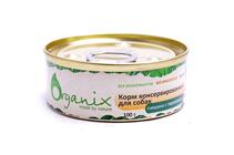 Organix / Консервы для собак Говядина с перепелкой (цена за упаковку)