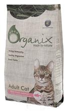 Organix Adult Cat Salmon / Сухой корм Органикс для кошек свежий Лосось и рис