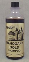 Заказать Jerob Mahogany Gold Shampoo / Оттеночный концентрированный шампунь для кошек и собак Красных и Золотых окрасов по цене 1760 руб