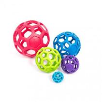JW Hol ee Roller Dog Toys / Игрушка для собак Мяч сетчатый каучук