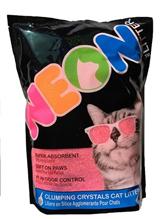 Neon Litter / Наполнитель для кошачьего туалета Силикагелевый Комкующийся Розовый