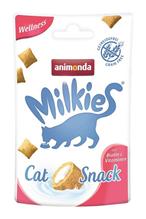 Заказать Animonda Milkies Wellness Biotin & Vitaminen / Лакомство для кошек Хрустящие подушечки для поддержания здоровья Кожи и Шерсти по цене 100 руб