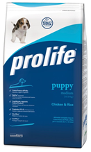 Заказать Prolife Puppy Medium Chicken & Rice / Сухой корм для Щенков Средних пород Курица рис по цене 660 руб