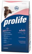 Заказать Prolife Adult Medium Lamb & Rice / Сухой корм для взрослых собак Средних пород Ягненок рис по цене 1900 руб