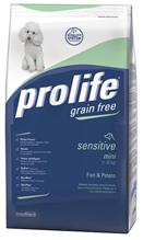 Заказать Prolife Sensitive Grain free Mini Fish & Potato / Сухой Беззерновой корм для собак Мелких пород с Чувствительным пищеварением Рыба картофель по цене 640 руб