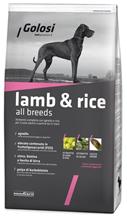 Golosi Lamb & Rice All breeds / Сухой корм Голоси для собак всех пород Ягненок рис