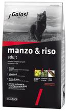 Golosi Manzo & Riso Adult / Сухой корм Голоси для взрослых кошек Говядина рис