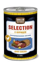 Solid Natura Selection / Консервы Солид Натура для собак Курица (цена за упаковку)