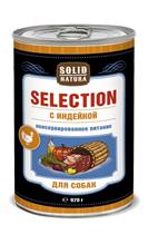 Solid Natura Selection / Консервы Солид Натура для собак Индейка (цена за упаковку)