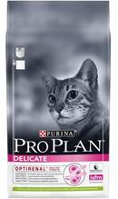 Purina Pro Plan Cat Adult Delicate Lamb / Сухой корм Пурина Про План для взрослых кошек с чувствительным пищеварением Ягненок