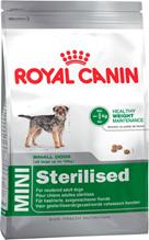 Заказать Royal Canin Mini Adult Sterilised / Сухой корм Роял Канин Мини Эдалт Стерилайзд для взрослых Стерилизованных собак Мелких пород в возрасте от 10 месяцев до 8 лет со склонностью к Избыточному весу по цене 940 руб
