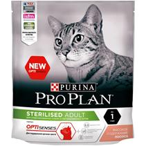 Purina Pro Plan Cat Sterilised Salmon OptiSenses / Сухой корм Пурина Про План для Стерилизованных кошек для Поддержания органов чувств Лосось