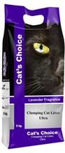 Заказать Indian Cat Litter Cats Choice Ultra Lavender Fragrance / Комкующийся наполнитель для кошачьего туалета Бентонитовый Лаванда по цене 430 руб