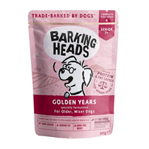 Barking Heads Dog Golden Years / Паучи Баркинг Хэдс для собак старше 7 лет 'Золотые годы' (цена за упаковку)