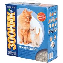 Зооник Premium Class / Наполнитель для кошачьего туалета Комкующийся