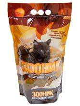 Зооник / Наполнитель для кошачьего туалета Впитывающий