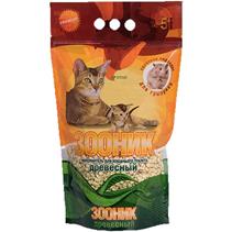 Зооник / Наполнитель для кошачьего туалета Древесный