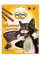 Мнямс Лакомство для кошек Мясной карнавал Лакомые палочки Индейка Ягненок
