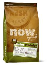 NOW Natural holistic Fresh Senior Small Breed Recipe Grain Free 24 / 11 Сухой корм Беззерновой для Пожилых собак Мелких пород Индейка Утка Овощи