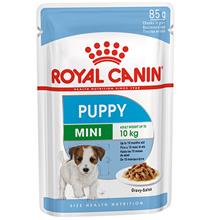 Royal Canin Mini Puppy / Влажный корм (Паучи) Роял Канин Мини Паппи для Щенков Мелких пород в возрасте от 2 до 10 месяцев (Цена за упаковку)
