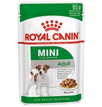Royal Canin Mini Adult / Влажный корм (Паучи) Роял Канин Мини Эдалт для взрослых собак Мелких пород весом до 10 кг в возрасте от 10 месяцев до 8 лет (Цена за упаковку)