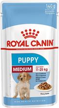 Royal Canin Medium Puppy / Влажный корм (Паучи) Роял Канин Медиум Паппи для Щенков Средних пород в возрасте от 2 до 12 месяцев (Цена за упаковку)