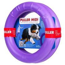 Puller Midi / Тренировочный снаряд Пуллер для собак Средних и Крупных пород весом от 10 до 30 кг Фиолетовый 2шт