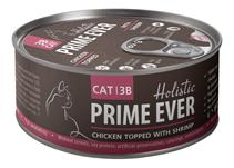 Prime Ever Cat 3B Chicken topped with Shrimp / Влажный корм Прайм Эвер для кошек Цыпленок с Креветками в желе (цена за упаковку)