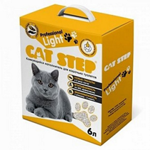 Cat Step Professional Light / Комкующийся наполнитель Кэт Степ для кошачьего туалета 2,5 кг