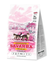 Savarra Sensitive Lamb / Сухой Гипоаллергенный корм Саварра для взрослых кошек с Чувствительным пищеварением Ягненок рис