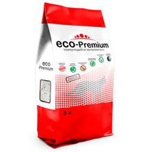 Eco Premium Green / Наполнитель Эко Премиум Грин для кошачьего туалета Древесный Сосна Без ароматизатора