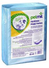 Заказать Petmil / Пеленка-подстилка впитывающая для домашних животных по цене 80 руб