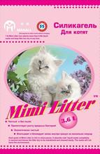 Заказать Mimi Litter / Наполнитель для кошачьего туалета Силикагелевый для Котят розовые гранулы по цене 380 руб